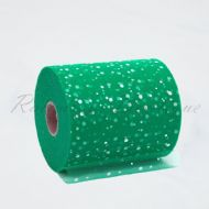 Teal Sequin Tulle Roll